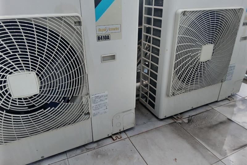 bảo trì dàn nóng