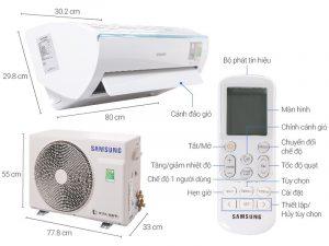 Bảng mã lỗi máy lạnh Samsung