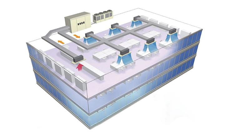Sửa máy lạnh trung tâm, máy lạnh Multi tại Bình Dương